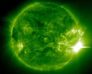 TORMENTA SOLAR 3. FOTO NASA