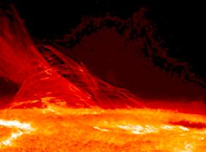 TORMENTA SOLAR Foto NASA