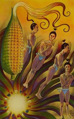 Hombres de maiz