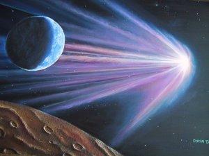 cometa aproximandose a la Tierra webcindario com