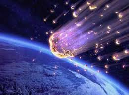 Meteoritos a punto de  hacer impacto en la Tierra