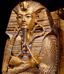 Tutankamón cetros de poder arteinternacional
