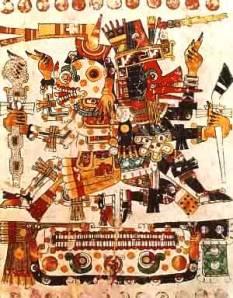 quetzalcoatl y Mictlantecuhtli