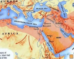 Mar Mediterraneo Egipto Mesopotamia