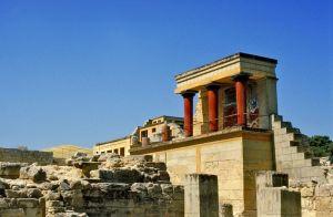 Palacio de Cnossos Creta foto Citypeek