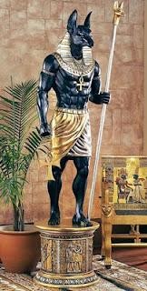 Dios egipcio Anubis