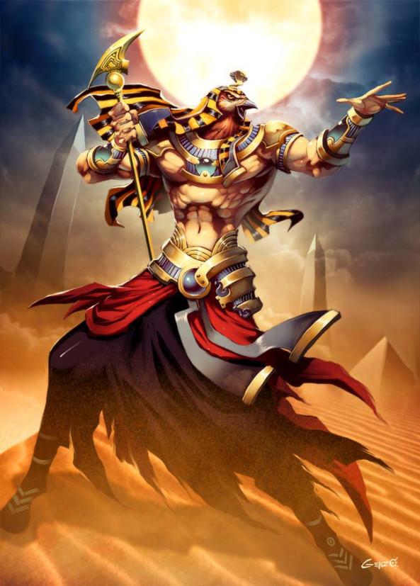 Ra dios solar egipcio