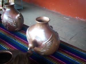 Artesanias de cobre de Michoacan