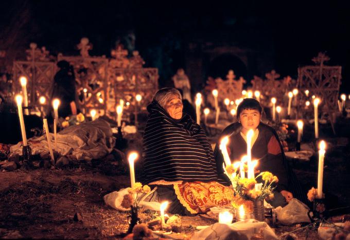 Dia de Muertos en janitzio
