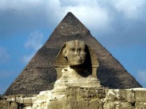 Piramide de kefren y Esfinge Egipto