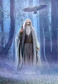 Merlin y su vara magica