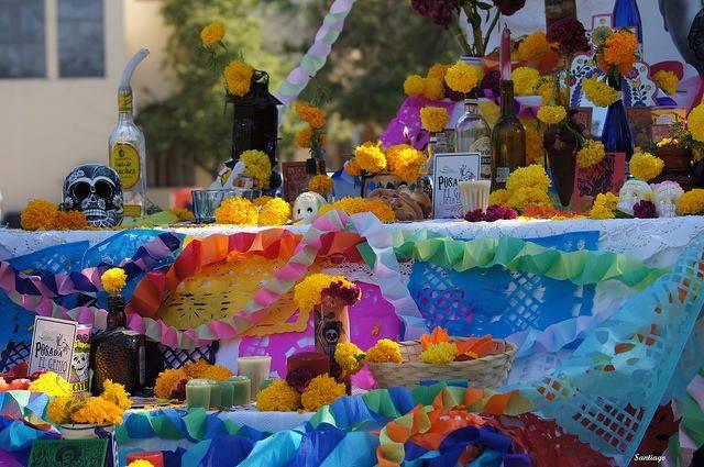 Ofrenda día de muertos, Ciudad de México, D. F