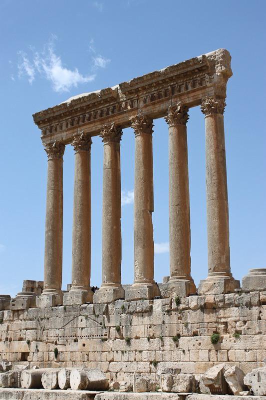Baalbek templo de Jupiter