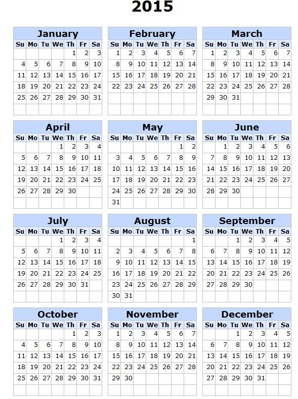 calendario-2015-para-imprimir-ingles