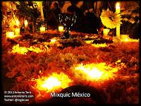 Mixquic cementerio dia de muertos