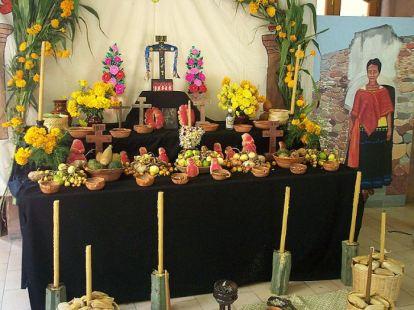 Altares dia de muertos