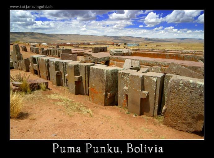 Puma PUnku estructuras en H