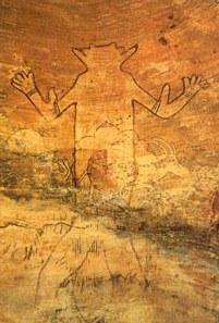 Tassili dios o astronauta