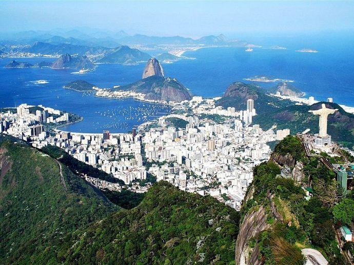 El Cristo Redentor Rio_Corcovado_Pain_de_Sucre LecomteB