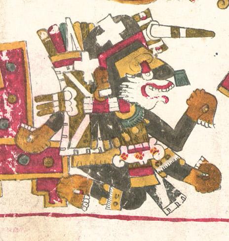 Nanahuatzin  Codice Borgia