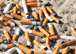 Colillas de cigarro para reciclar