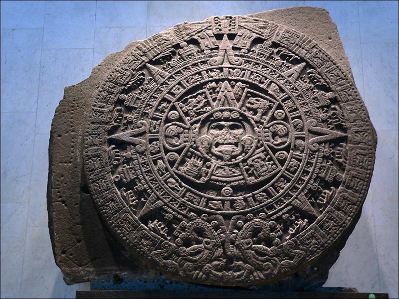 Calendario Inca Simbolos.La Piedra Del Sol O Calendario Azteca Historia Ciencia