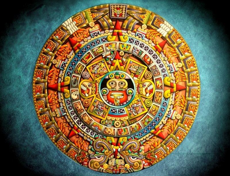 La Piedra Del Sol O Calendario Azteca Historia Ciencia Aztecas