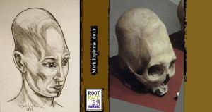 Skull at Museo Nacional de Arqueología Antropología e Historia del Perú