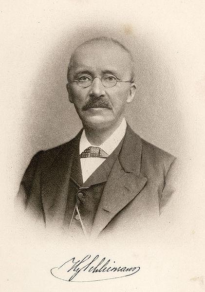 Heinrich_Schliemann public domain