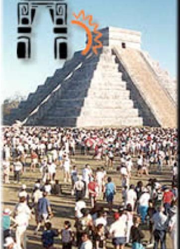 Pirámide de Kukulkan explanada