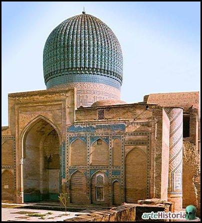 37.mausoleo de Tamerlan