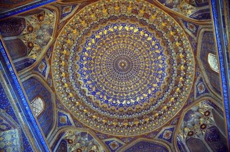 48 Samarcanda - Tilla Kari, cupola dorata