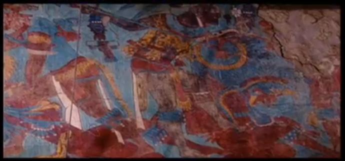 Mural de Cacaxtla