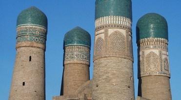 "char-minar-medersa-""cuatro-minaretes""-en-bujara"