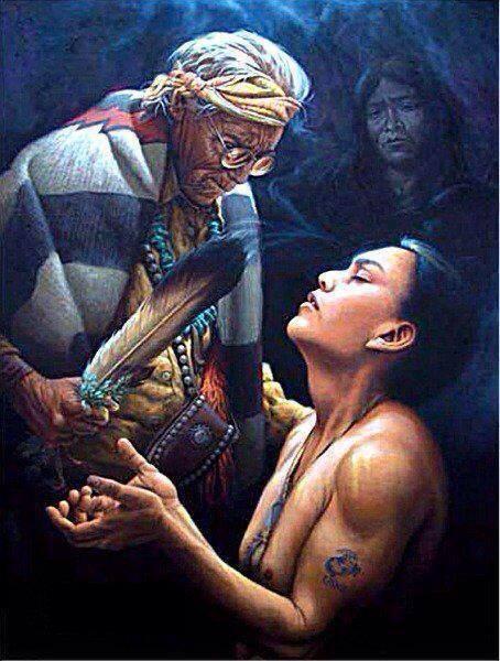 Los chamanes y sanadores son personas heridas que aprenden a curarse a sí mismas_By Karina Yepes