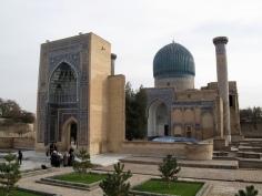 Samarcanda mausoleo de Tamerlan