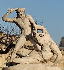 TESEO matando al Minotauro