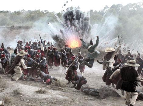 Batalla 5 de mayo tetelenses, xochiapulcas y zacapoaxtlas con machetes defienden el Fuerte