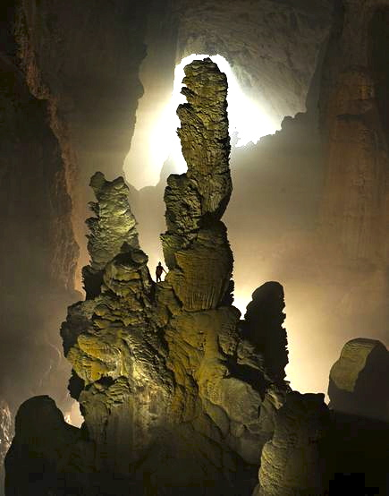 Hang Son Doong, in Phong Nha-Ke Bang National Park in Vietnam