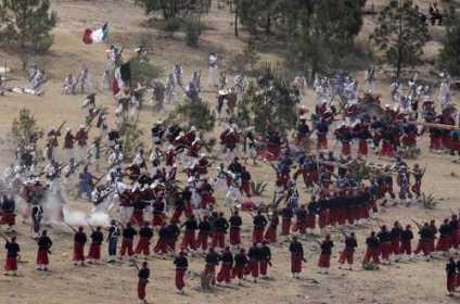 Batalla del 5 de mayo tetelenses y zacapoaxtlas