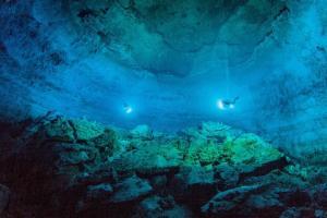Cueva Tulum Mexico hallazgo Naia R Chavez Arce Science