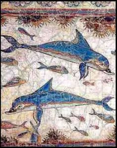 Delfines minoicos