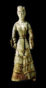 Estatuilla de marmol