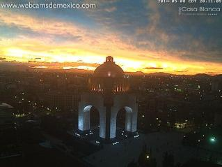 Monumento a la Revolucion Ciudad de Mexico Foto webcamsdemexico