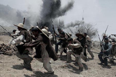 5 de mayo batalla cuerpo a cuerpo de tetelenses, xochiapulcas y zacapoaxtlas contra zuavos franceses