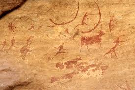 Animales en pinturas rupestres Tassili