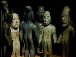 Esculturas Olmecas de San Lorenzo Mexico