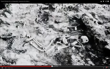 Esqueletos hallados en Mohenjo Daro India