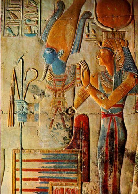 Isis y Osiris sangre azul