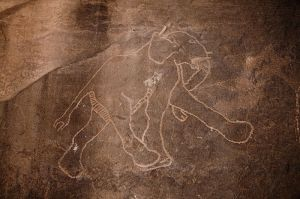 Libya Petroglyphs_elephant Tadrart_Acacus_Luca_Galuzzi_2007